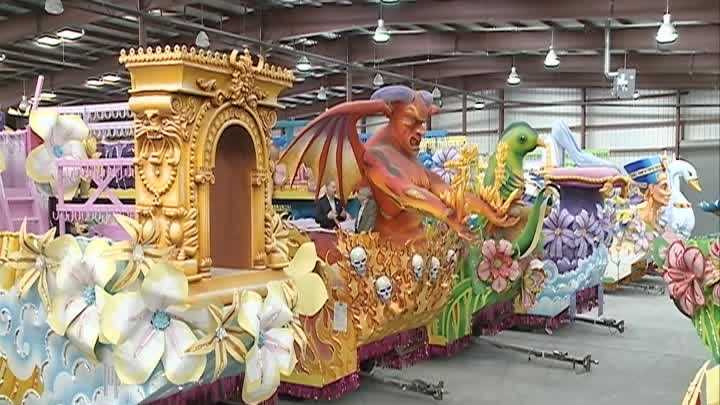 WDSU Mardi Gras Guide Arthur Hardy has a preview for Endymion.