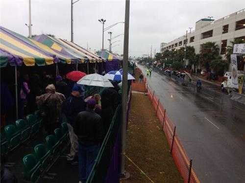 While Mardi Gras started wet, nothing dampened the spirits of revelers on the parade route. Take a look at some of the moments from Mardi Gras 2014!