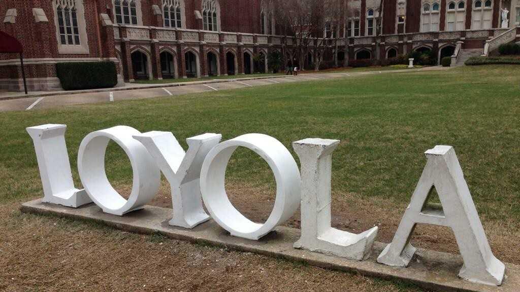 loyola sign fixed 3-5-14