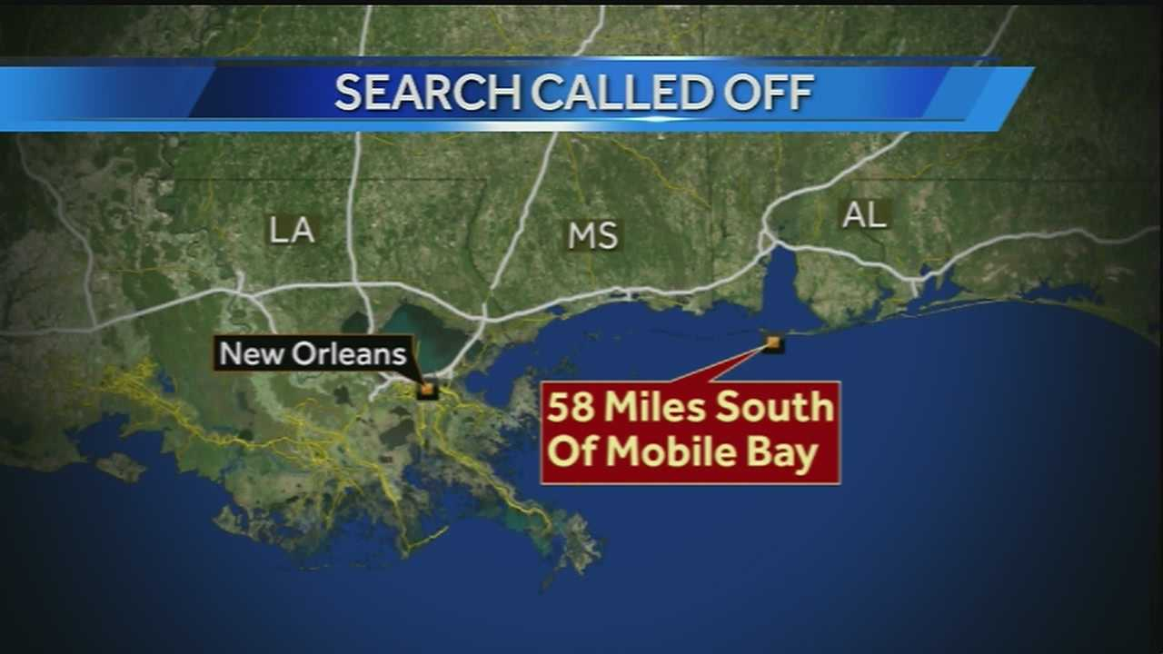 35-year-old Benjamin Sorrells went missing Thursday about 58 miles south of Mobile Bay.