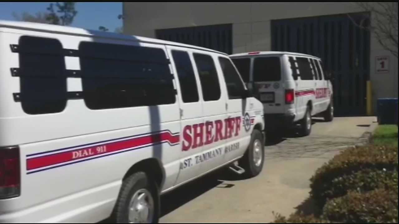 Sources told WDSU that deputies from the St. Tammany Parish Sheriff's Office fanned out across the northshore on Thursday afternoon to retrieve dozens of inmates enrolled in a local work release program.