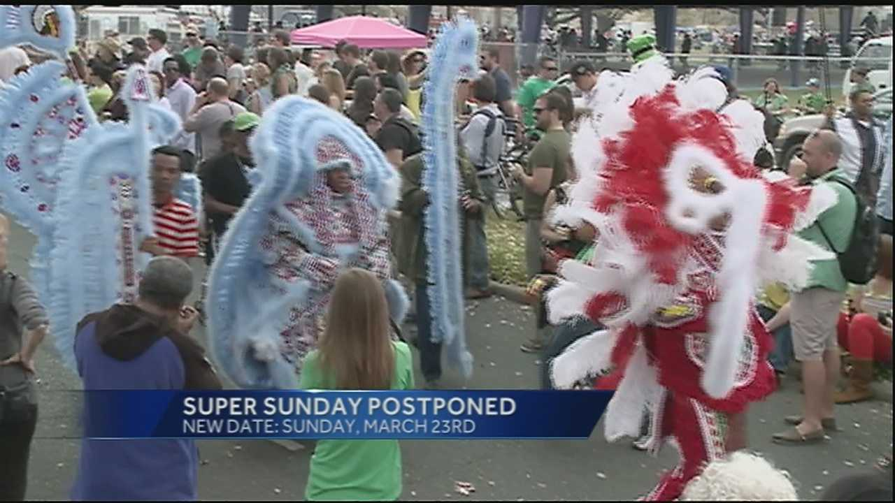 Mardi Gras Indians will parade next week with the weekend having a potential for rain.