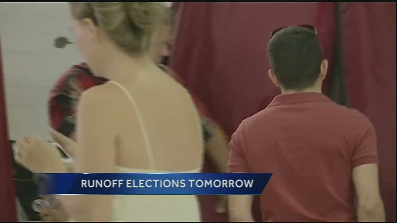 There are seven items on Saturday's election ballot.
