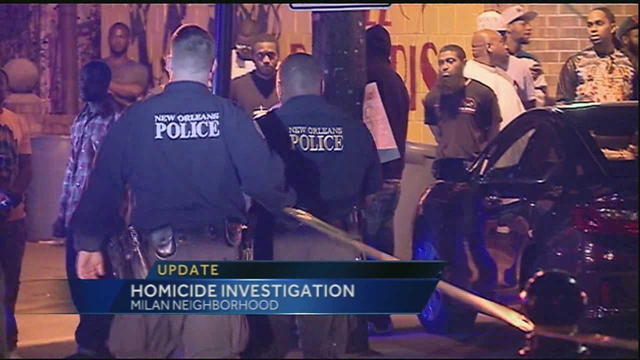 New Orleans homicide investigation