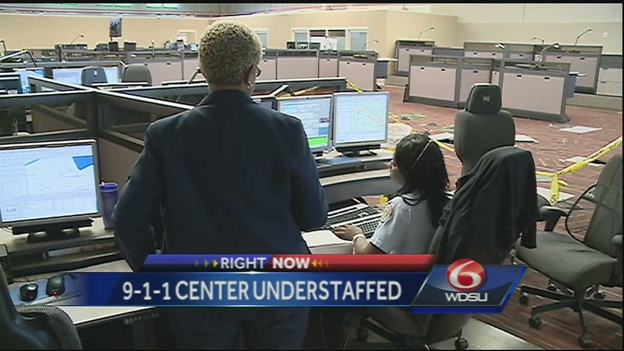 Police Chief goes before city leaders to discuss the understaffed 9-1-1 center