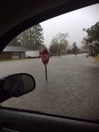 Location: SlidellViewer: Adrienne DowdenHeavy rain drenched parts of southeast Louisiana on Friday, causing flooding and traffic headaches. Send your photos to ulocal@wdsu.com or click here.