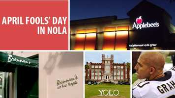 It's the biggest prank day of the year and some are having fun with April Fool's Day in New Orleans. Here's a breakdown of what has been seen around the web for New Orleans. Read full article