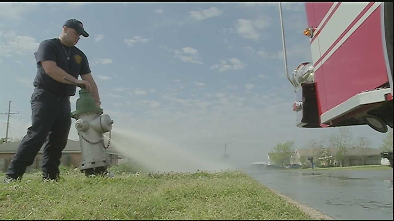 The St. Bernard Parish Fire Department will be checking the fire hydrants for the next six to eight weeks. It will be done five days a week from 9-11 a.m. A total of 2,500 hydrants throughout the parish are each checked to record water pressure and flow readings.