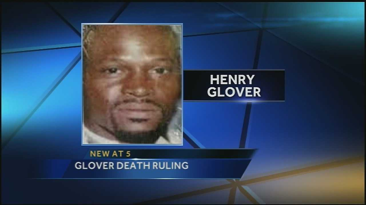 Orleans Parish Coroner Dr. Frank Minyard said Tuesday he will not provide a ruling on the death of Henry Glover.