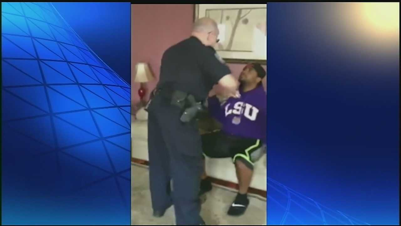 Controversial arrest caught on video