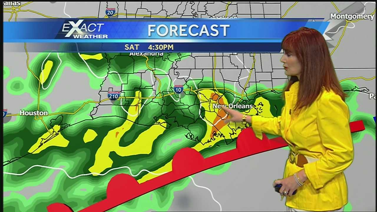 Increasing Rain Chances Saturday
