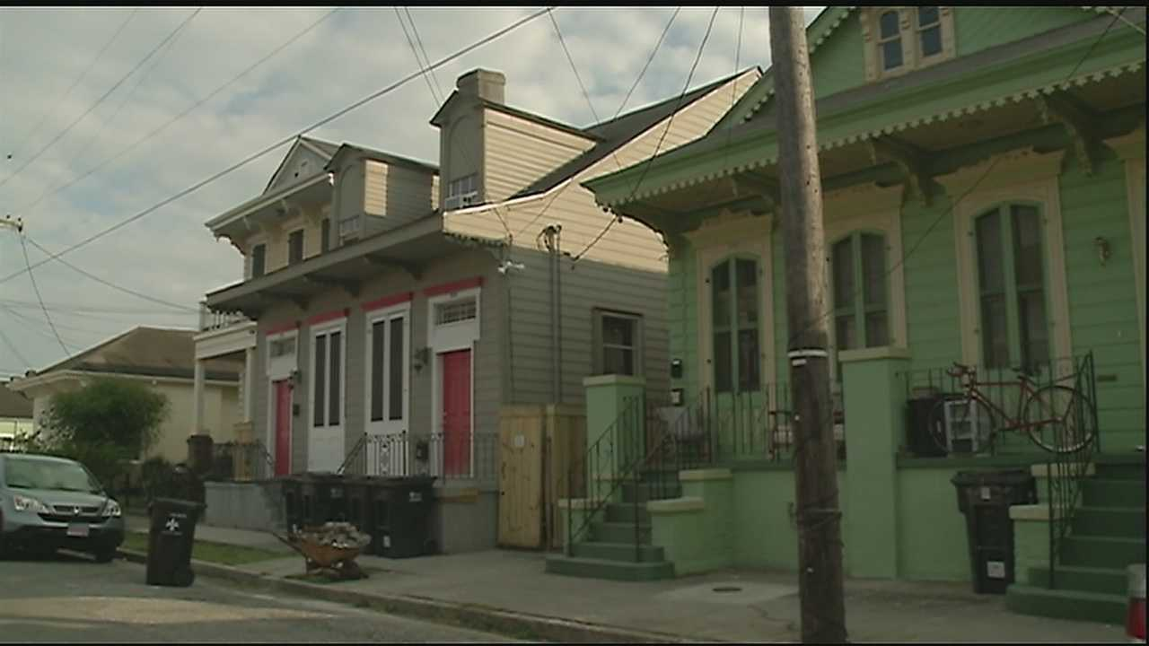 Neighbors are getting fed up with illegal short term rentals during big event weekends in NOLA.