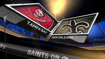 Oct. 5: Tampa Bay At New Orleans (noon)