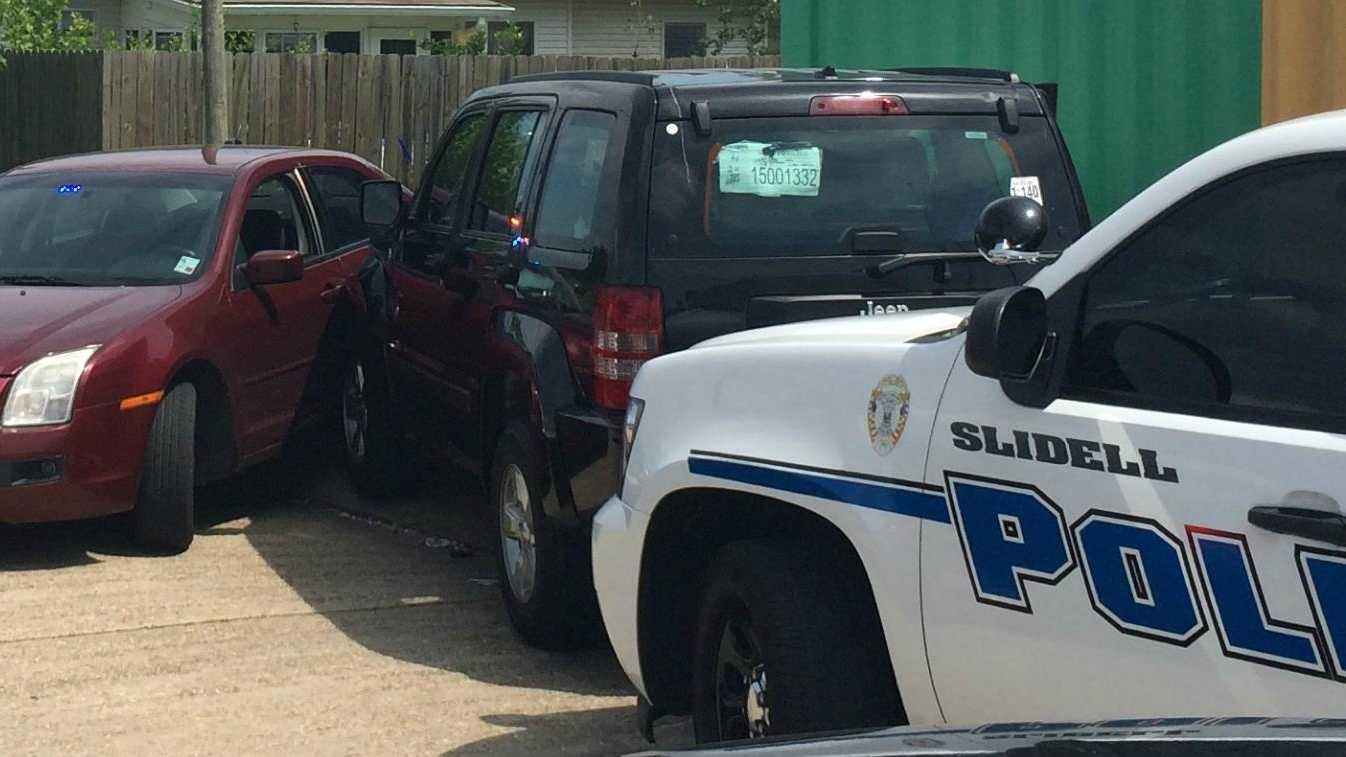 Stolen Jeep chase arrest