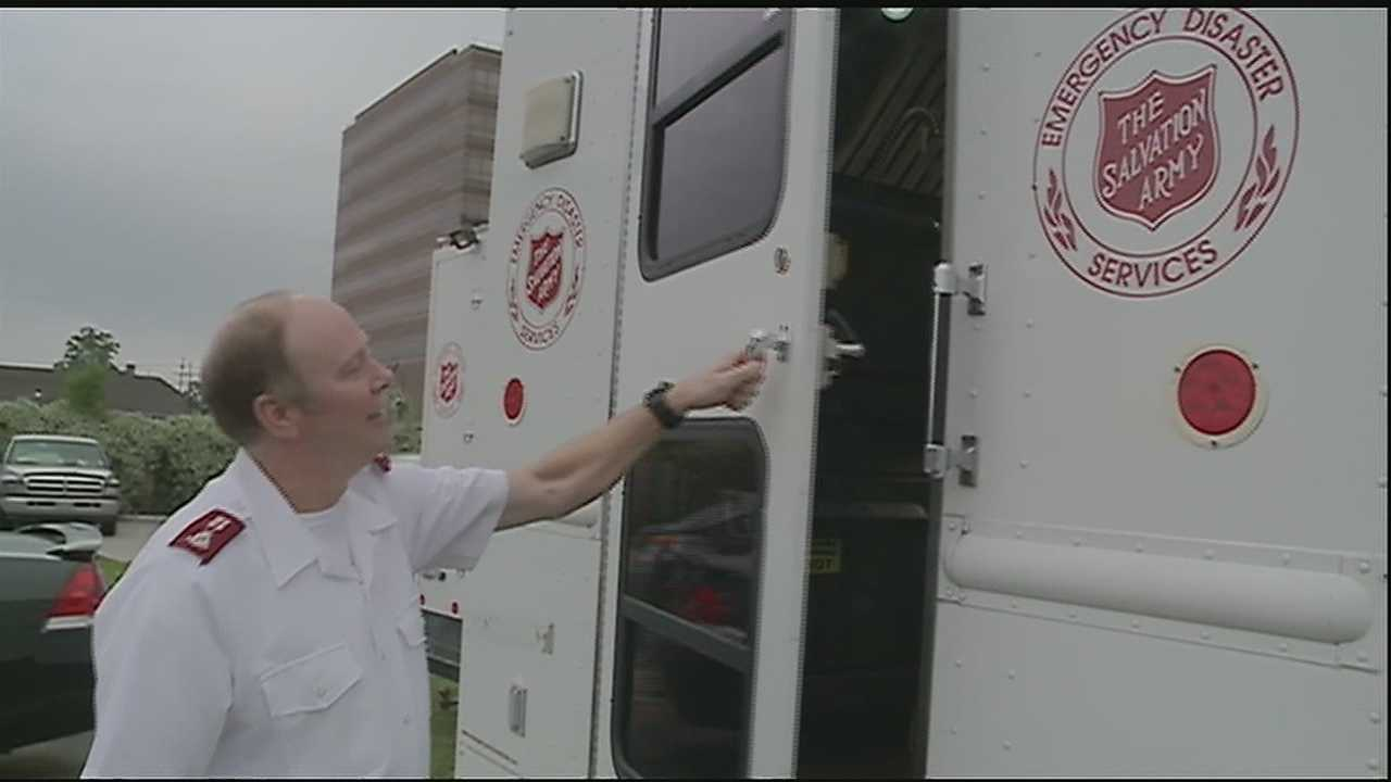 Local agencies are preparing to send aid to towns crippled by the tornado outbreak this week.
