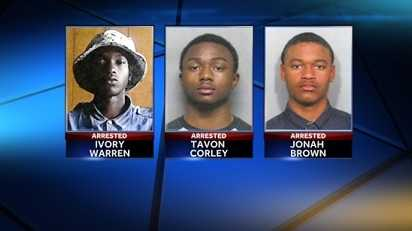 Cab driver homicide arrests