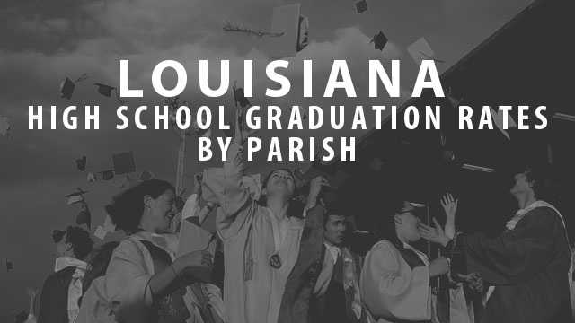 County Health Rankings recently released the high school graduation rates for 2014. Find out which parish has the highest graduation rate in Louisiana.