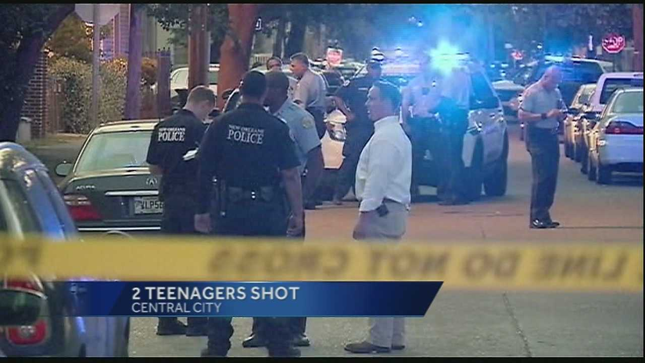 Two teens shot in Central City