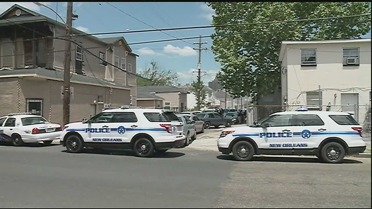 New Orleans police said a heavy police presence in Central City was due to an ongoing investigation.