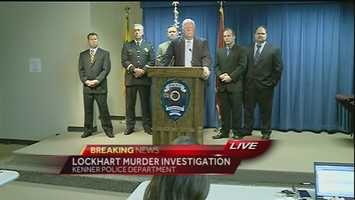 May 8, 2014: Kenner police held a news conference to update the public on the recent arrest of Margaret Sanchez in the Jaren Lockhart murder investigation. Police said they believe Sanchez helped in dismembering Lockhart. Read the story