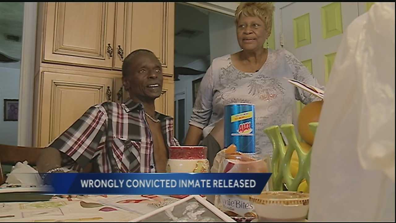Wrongfully convicted man talks about new found freedom