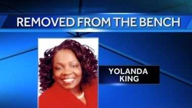Judge King removed from bench