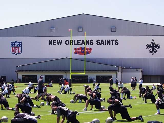 The New Orleans Saints are getting ready for the new season. Take a look at these photo from Saints Rookie Minicamp this weekend to see how things are shaping up!