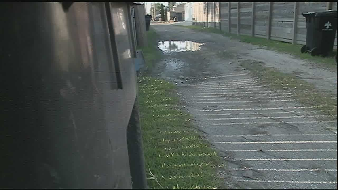 Lakeview residents say the alleys they use to access their homes is becoming a problem.