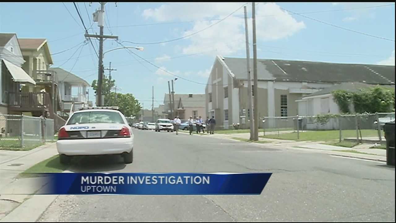 New Orleans police are investigating the killing of a man in the Milan neighborhood.