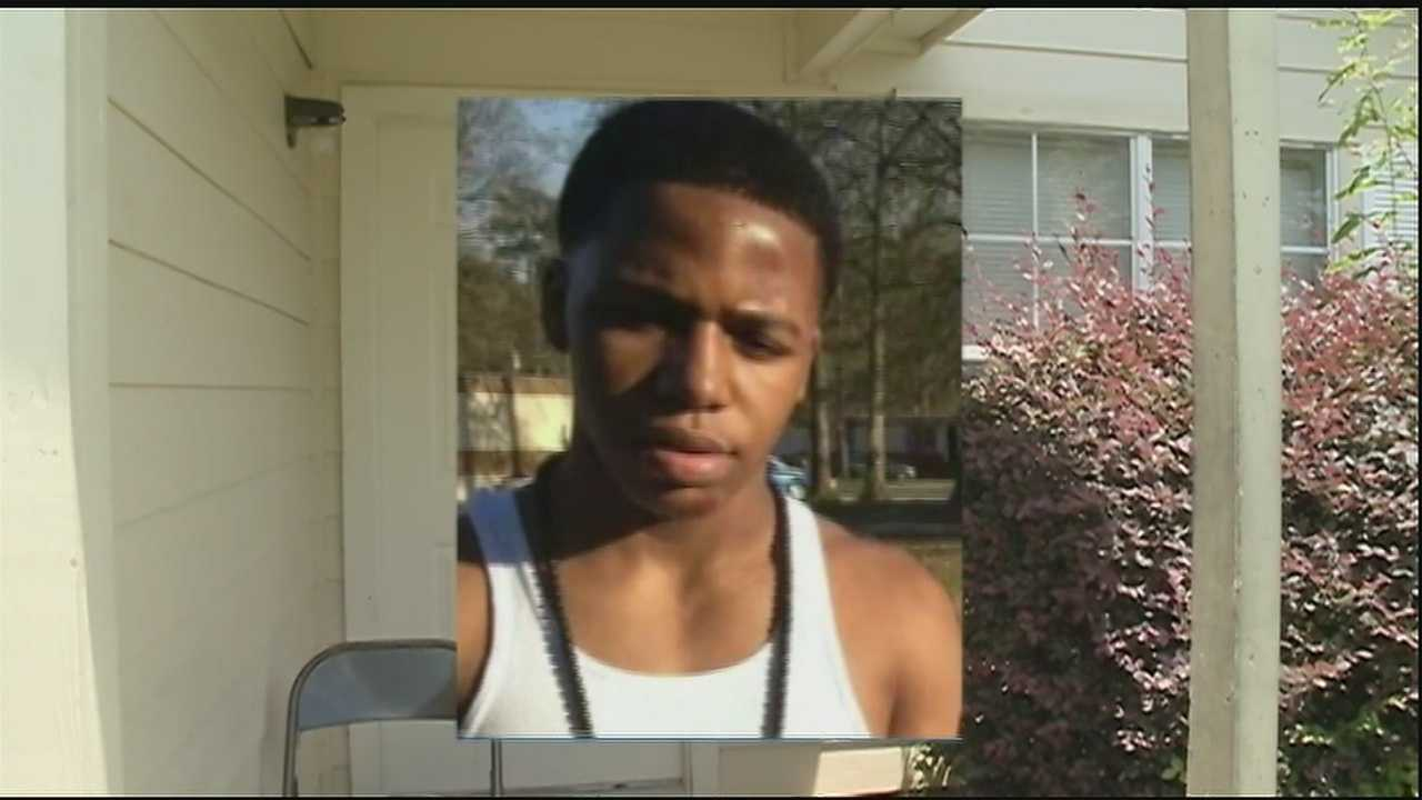 Investigators said a teen's killing could be linked to an earlier disturbance.