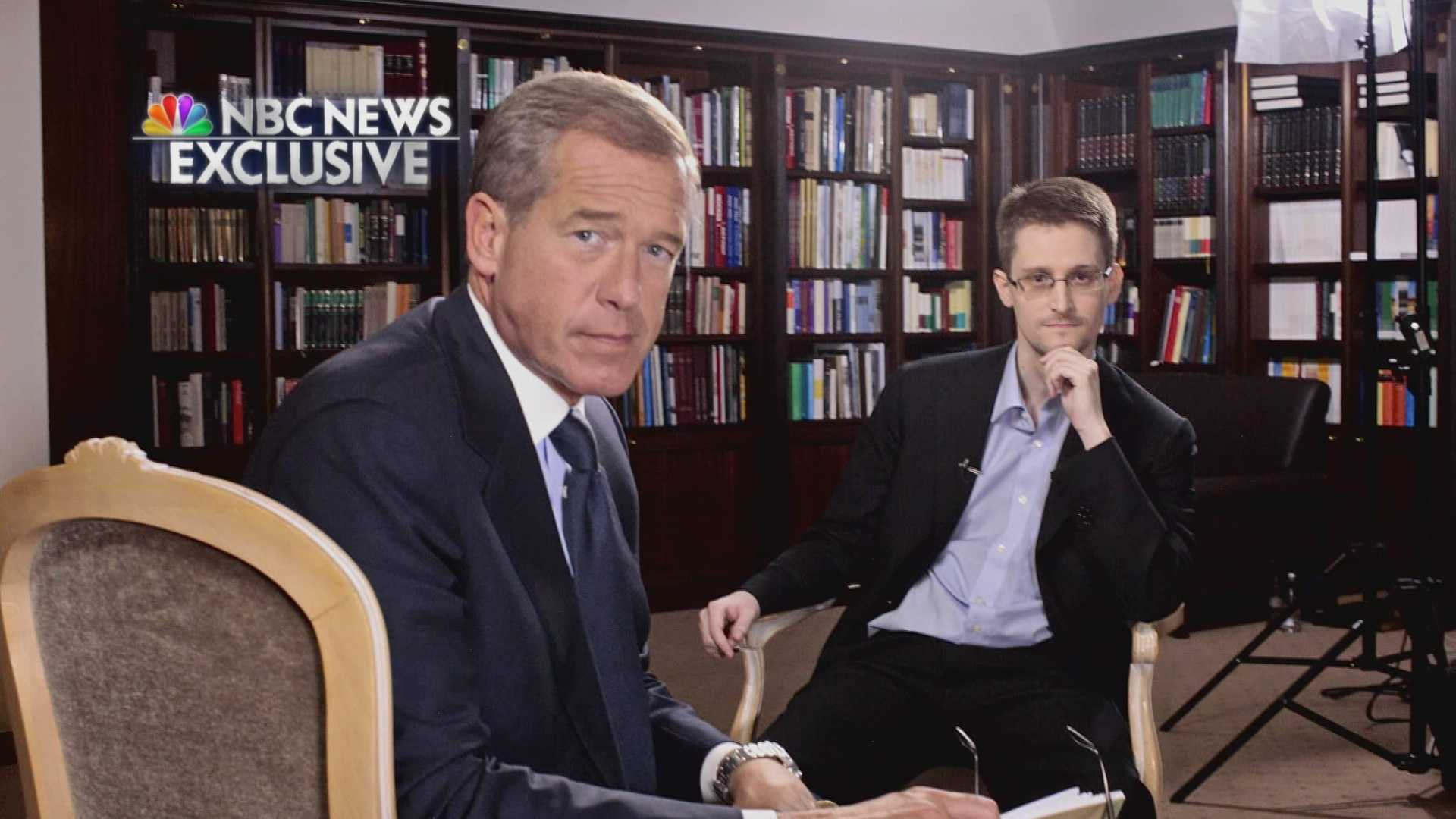 Brian Williams interviews Edward Snowden