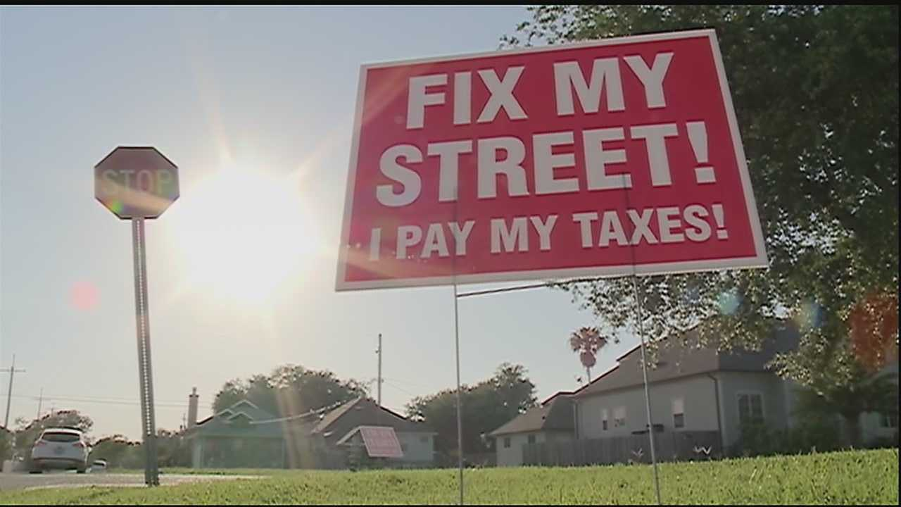 Gina Swanson reports on the efforts to fix streets and potholes.