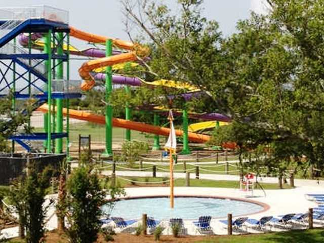 The wave pool at the Buccaneer Bay Waterpark, in Waveland, Miss., is back open after it was destroyed by Hurricane Katrina. Buccaneer State Park also features an array of waterslides. The cost is $17 for those 48-inches tall (or more) and $12 for the junior set.