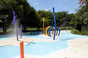 "The ""sprayground"" at Lafreniere Park in Metairie opened in 2012 and offers more than a dozen different elements, including water cannon and fountain features. It's meant for those ages 10 and under."