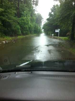 Airport Road in Covington