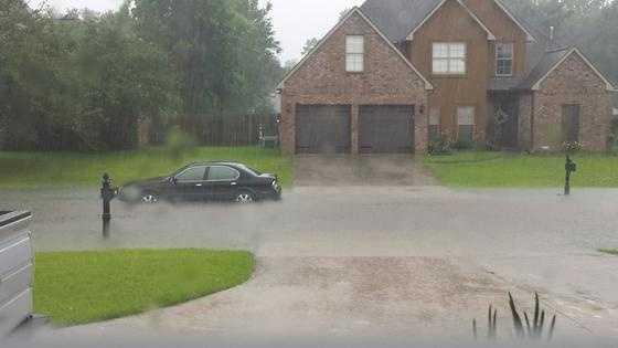 Flooding in Dutchtown.