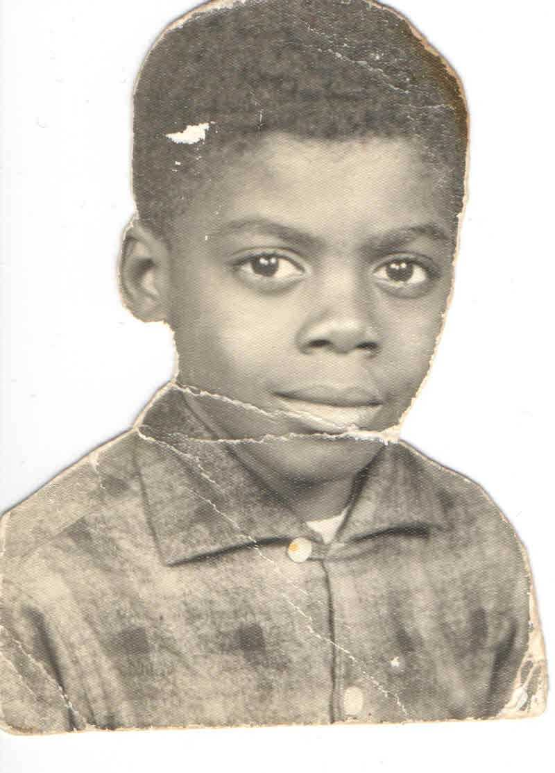 Norman Robinson at 6 years old. This was his first school picture when he lived in Toomsuba, Mississippi.