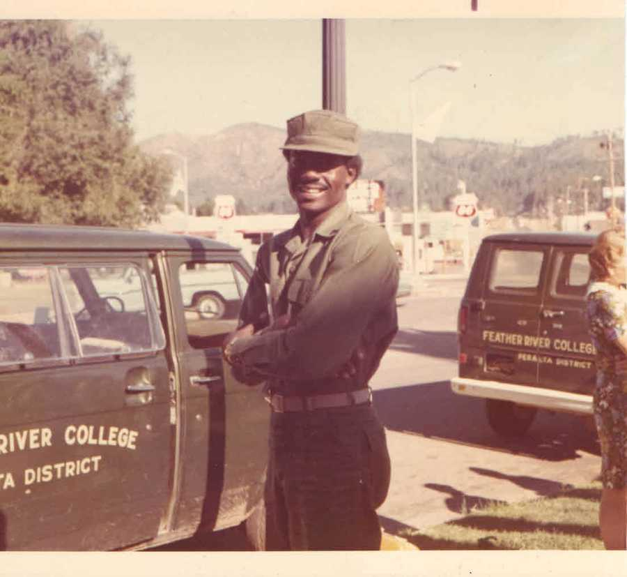 1972: Norman is on tour in California with the Camp Pendleton Marine Corp Band.