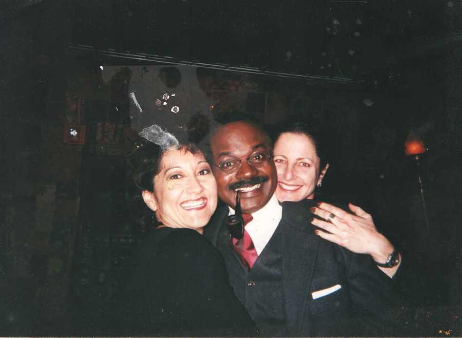 1997: Norman at a Gridiron show.