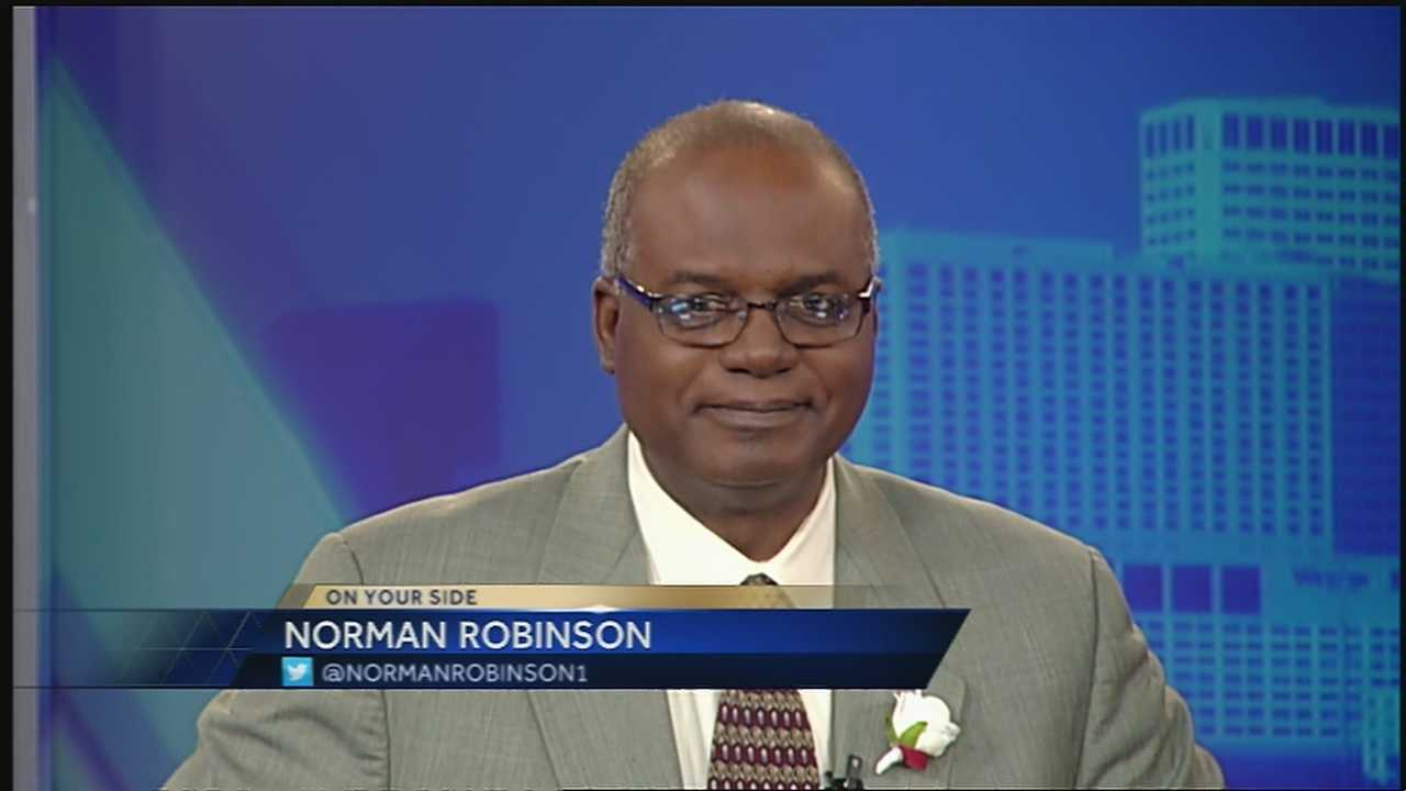 Norman Robinson bids farewell to the anchor desk and heads into retirement.