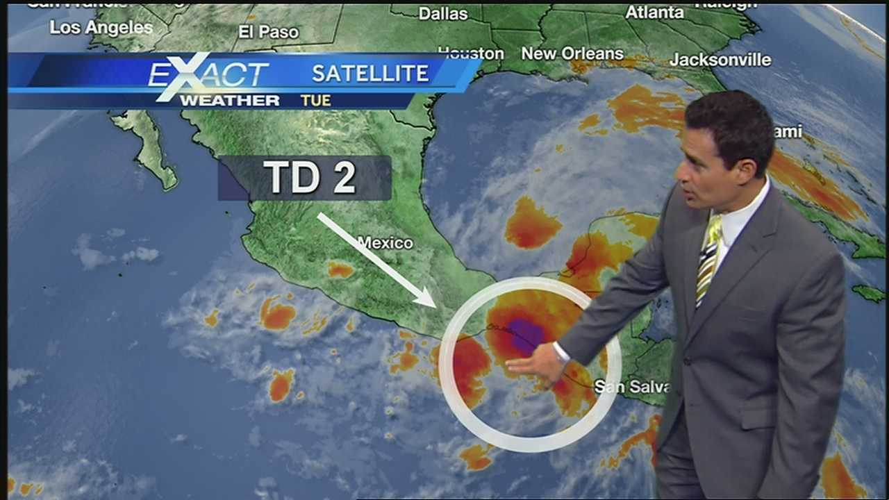 WDSU Exact Weather meteorlogist Jay Gallé is monitoring the developments off the coast of Mexico