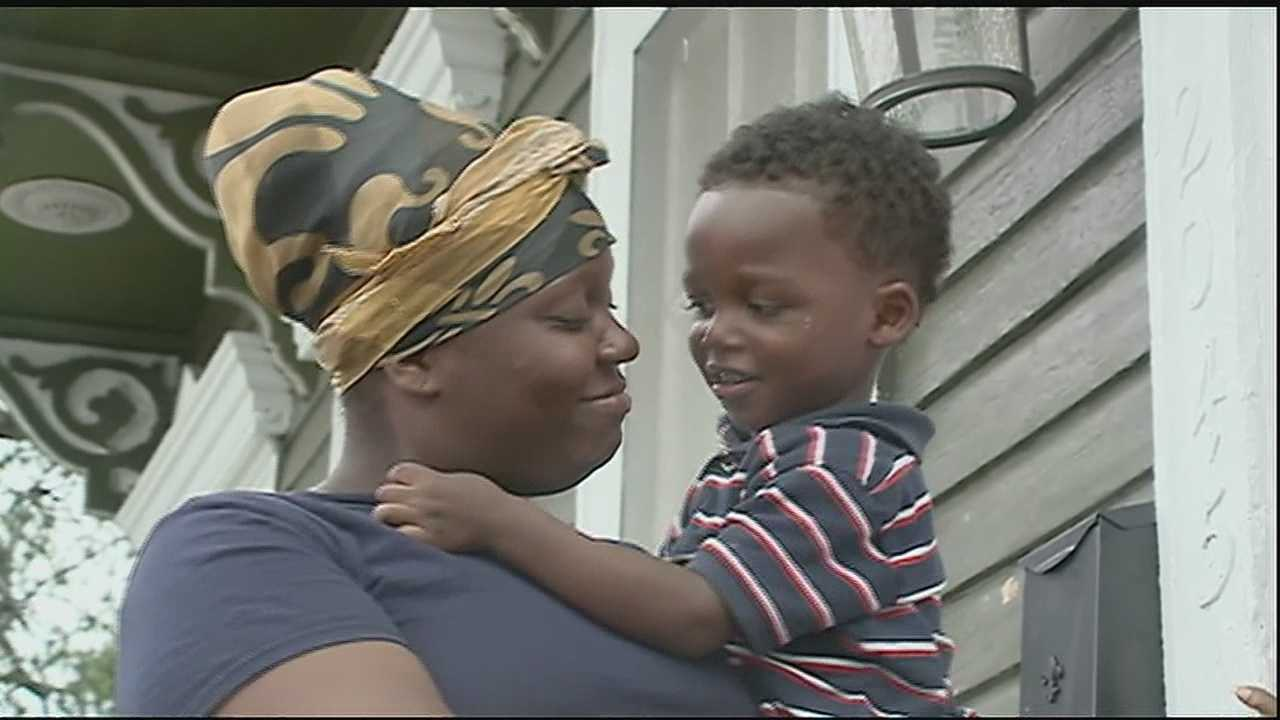 A 2-year-old is taken to the hospital after a homeless man attacks him and his mother in Central City.