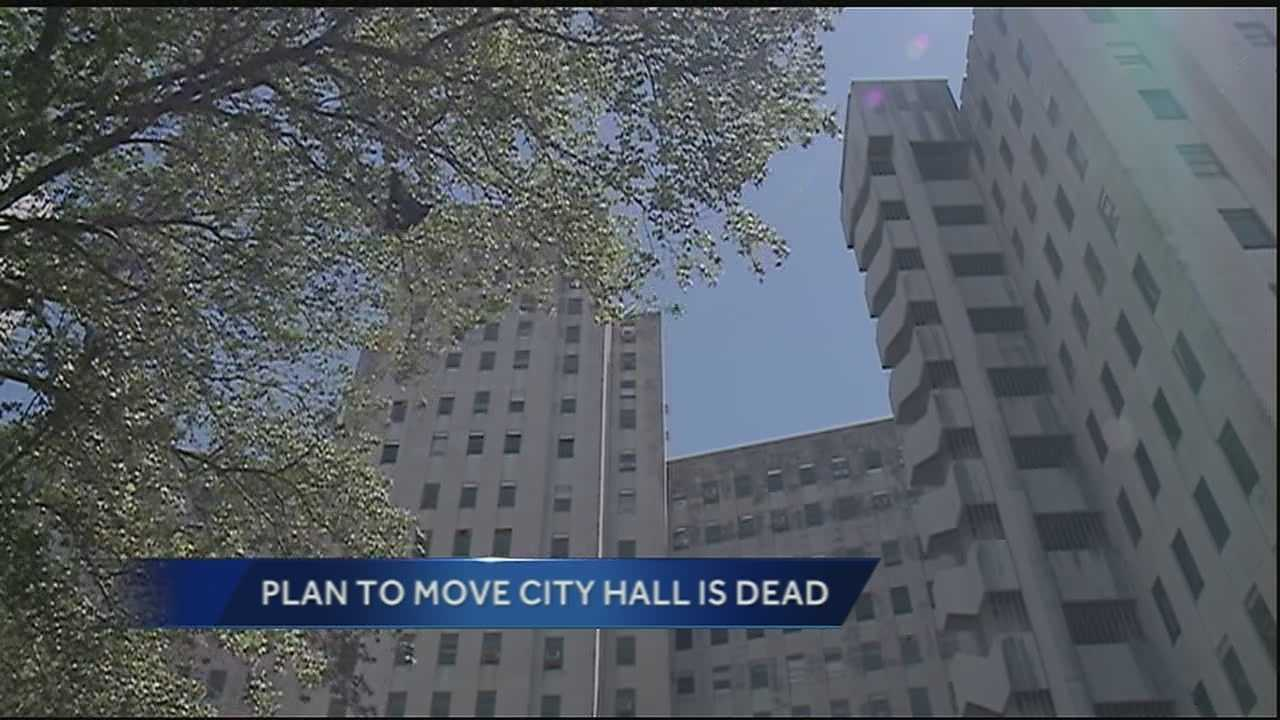 A plan to move New Orleans' City Hall appears to be dead.