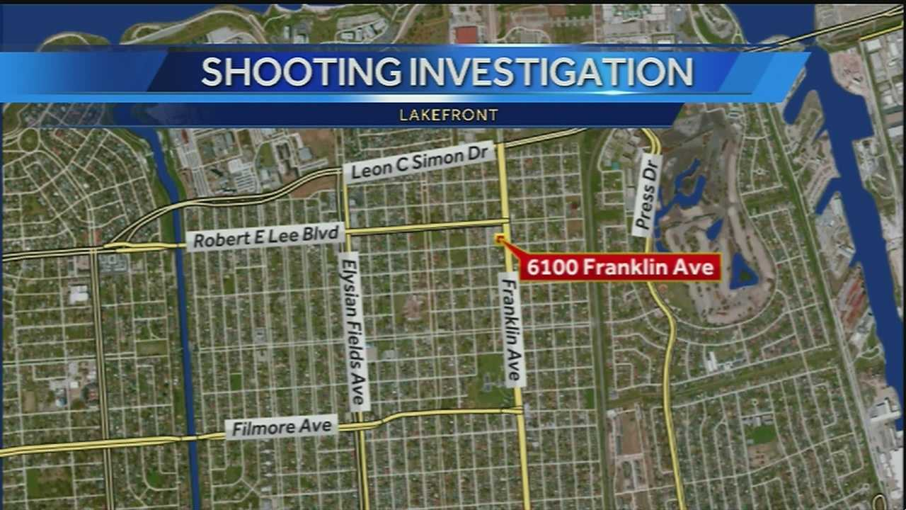New Orleans police are investigating a shooting in the Lakefront area.