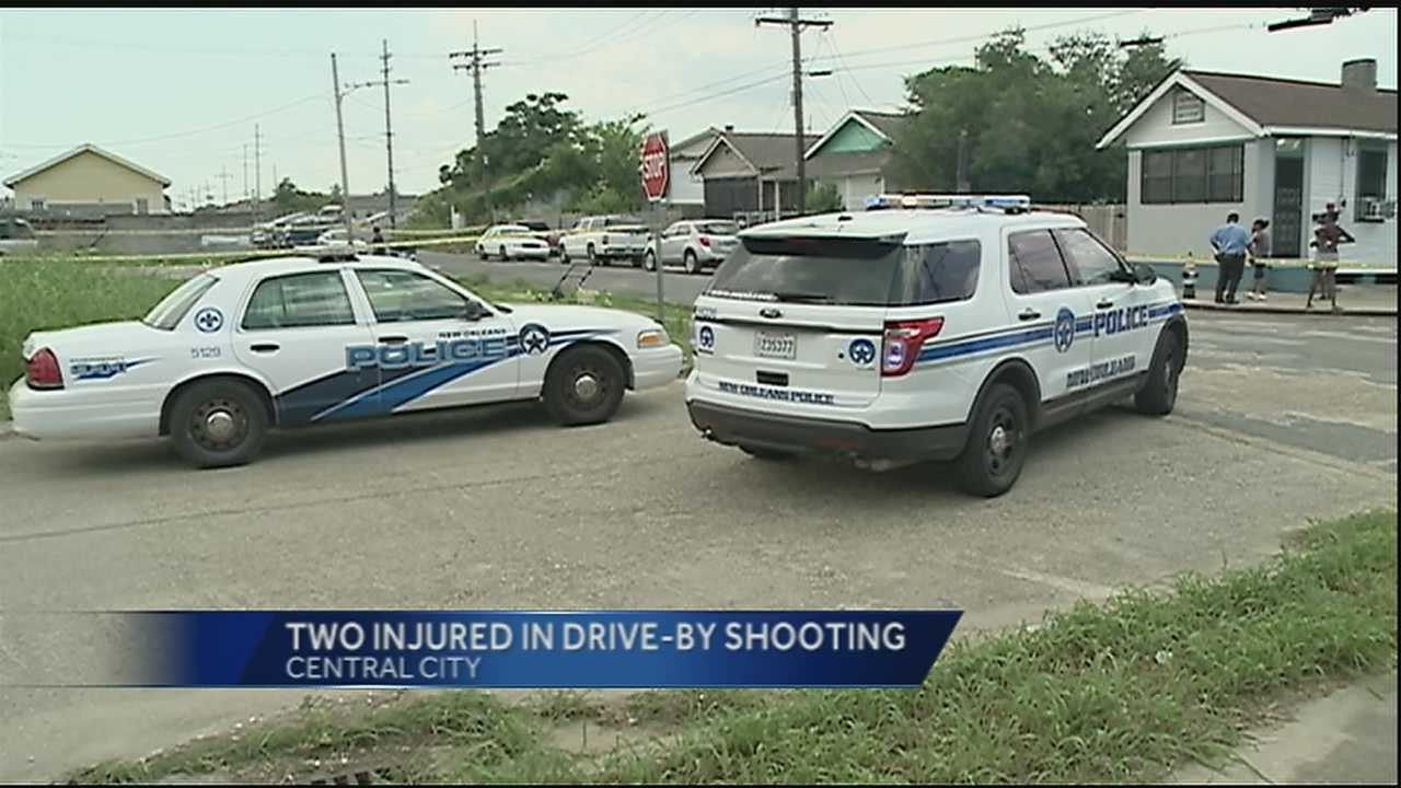 Two people were injured in a shooting on South Salcedo Street on Saturday.