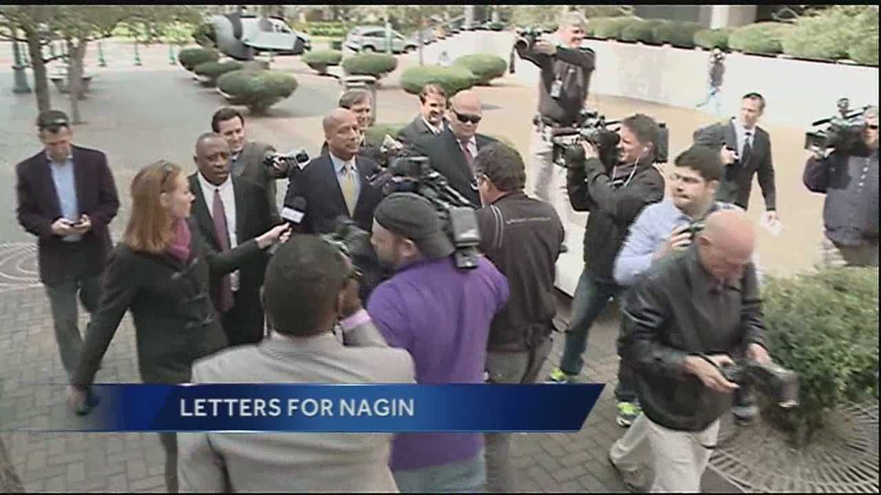 More than two dozen people are asking a federal judge to go easy on convicted former New Orleans mayor Ray Nagin.