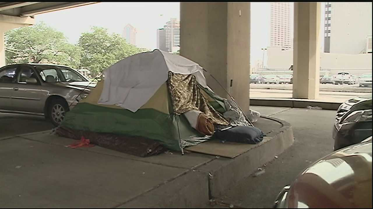 If you've driven underneath the Pontchartrain Expressway, you've no doubt noticed the growing tent city. More and more people are moving underneath the bridge. This comes as the city has a plan to clean it up.