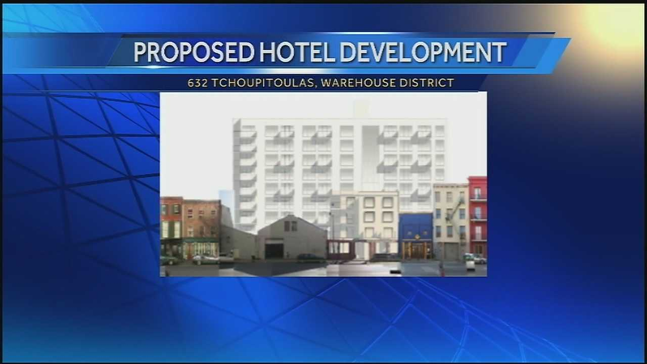 A community group says a developer is getting special treatment for a proposed hotel in the Warehouse District.