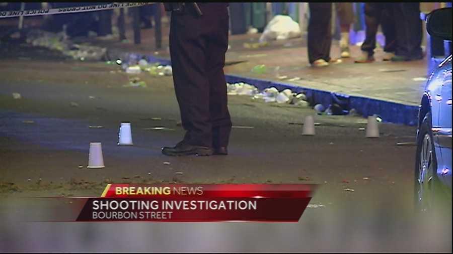 Nine people were injured in the shooting, police said.