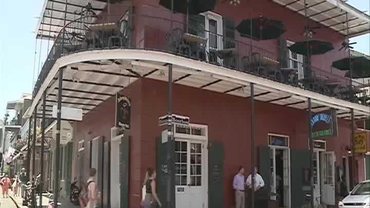 French Quarter businesses are concerned for general safety in the area after 10 people were injured in a shooting on Bourbon Street.